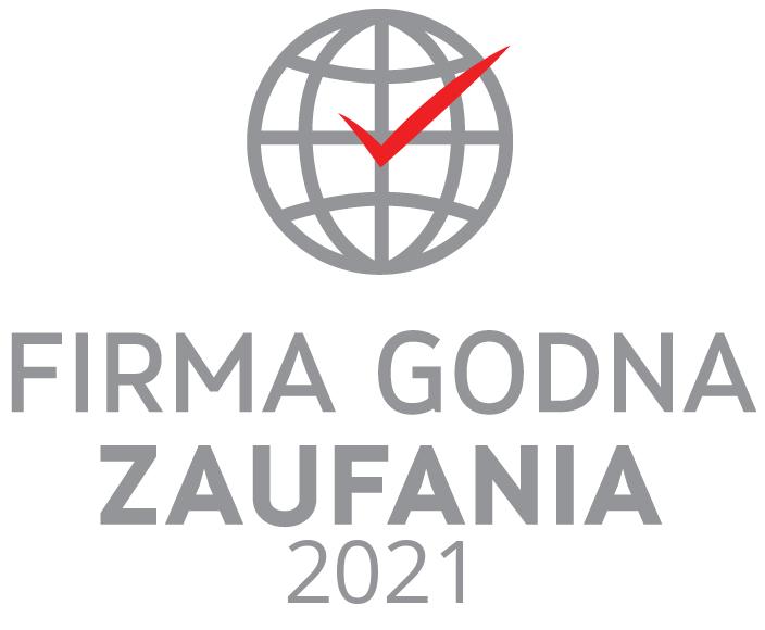 Certyfikat firma godna zaufania 2021